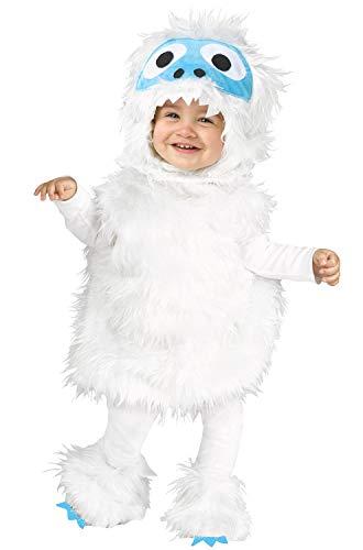 Abominable Snowman Halloween Costume (Fun World Snow Beastie Infant/Toddler Costume-18-24)