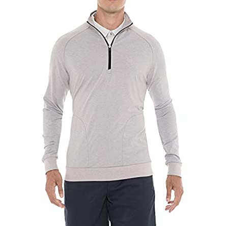 Mens Lightweight Dry Fit Pullover – Long Sleeve...
