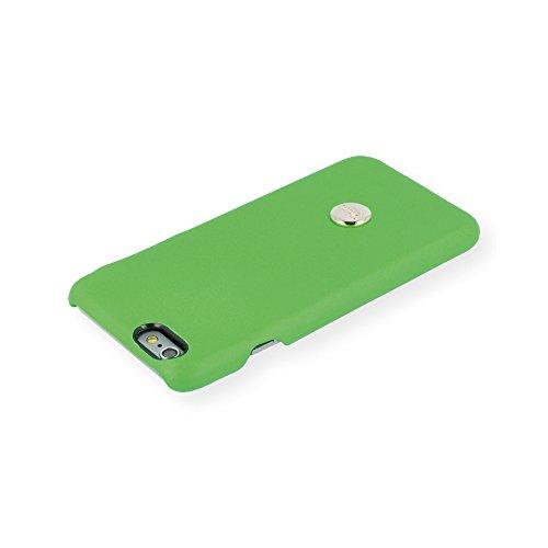 QIOTTI Q. Book Yeah Premium Étui Livret en cuir véritable pour iPhone 6/6S–Vert
