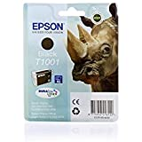 Epson Stylus Office BX 600 FW - Original Epson / C13T10014010 / T1001 / Stylus Office B40W Tinte Black - 25.9 ml