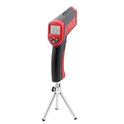 Temperatura eDealMax de mano sin contacto del IR del arma Tester Meter Termómetro digital por infrarrojos