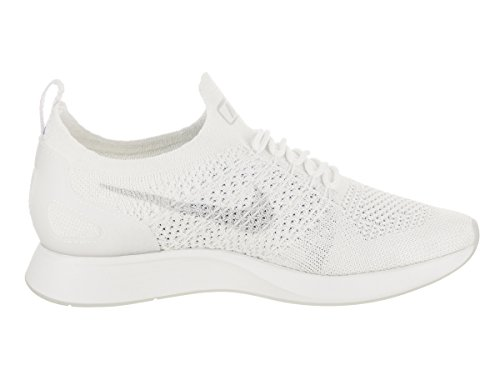 Nike Women's Air Zoom Mariah FlyKnit Racer White/Pure Platinum 8.5 B