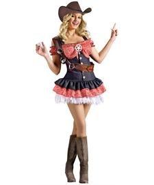 Shotgun Sheriff Costume (Shotgun Sheriff Adult Costume - Small/Medium)