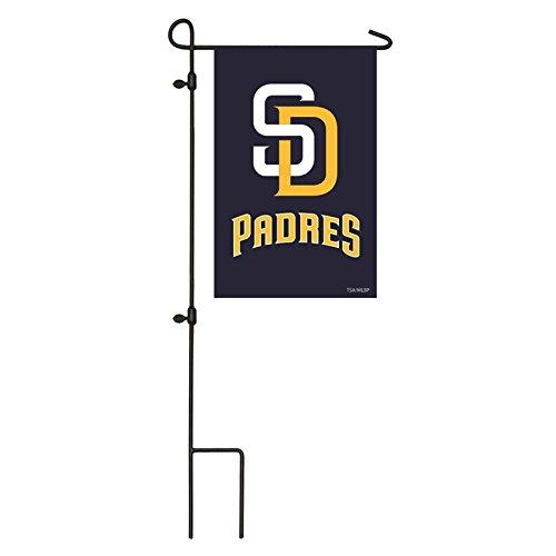 Amazon.com: Applique bandera, Gar, San Diego Padres: Jardín ...