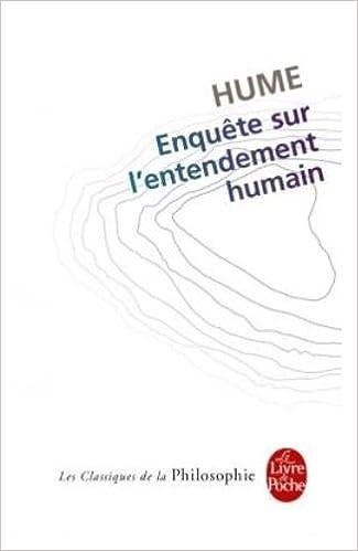 Lire Enquête sur l'entendement humain pdf