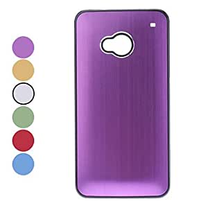 Light Surface Hard Case for HTC M7 (Assorted Colors) --- COLOR:Red