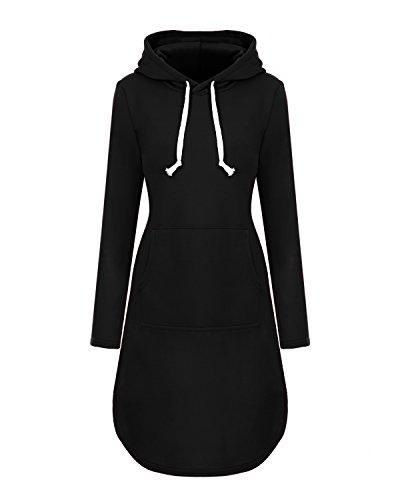 hoodie dress - 6