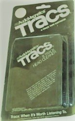 Audio Magnetics Tracs 8 Track Head Cleaner (Cassette Head Cleaner Tape)