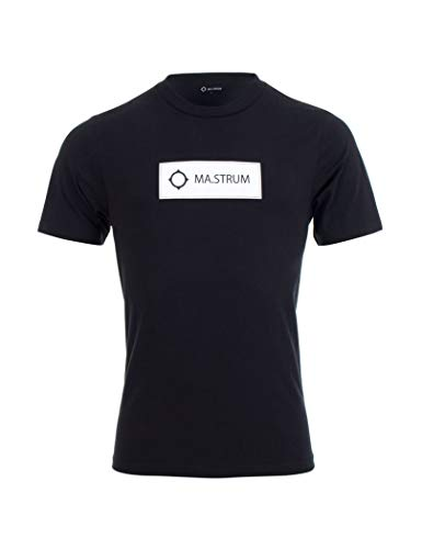 MA.STRUM - Ma Strum T-Shirt Icon Box Logo Navy Blue for sale  Delivered anywhere in USA