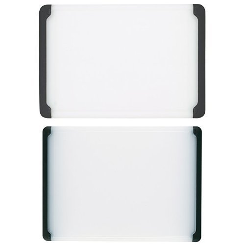 OXO Good Grips Utility Cutting Board 2-Pack, Black (Good Grips Cutting Board compare prices)