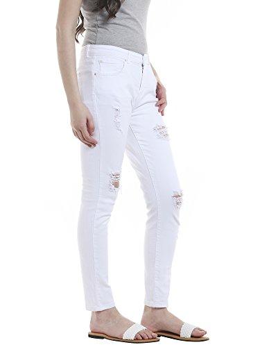 Jeans Donna Boyfriend Bianco Only White white vqPW5