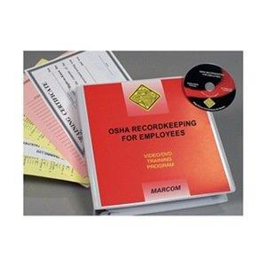 Marcom Group V0000179SO OSHA Recordkeeping for Employees, DVD Training, Spanish