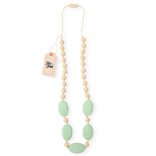 Fox and Finn 'Aubrey' Silicone Teething Necklace for Babies