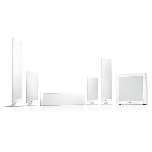 KEF T205WH 5.1 Home Theater System - White