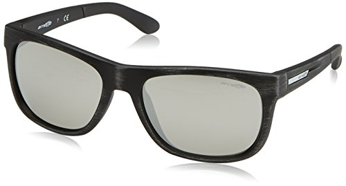 Arnette Men's Fire Drill Lite Non-Polarized Iridium Square Sunglasses, Matte Silvery Black, 57 - Deals 2017 Sunglasses Hot