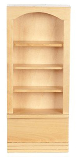 Dollhouse Miniatures Oak Bookshelf #T4290 from Town Square Miniatures