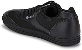 568087baea4f44 Reebok Classics Boys Class Buddy Black School Shoes (1.5 UK India) (32.5.  Loading images.