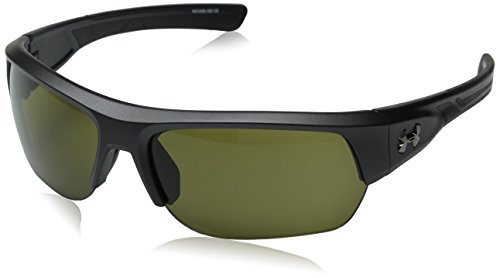Satin 100941 Men's Sunglasses Carbon Shot black Rectangular Under 8600085 Armour Big a5wpOXq8