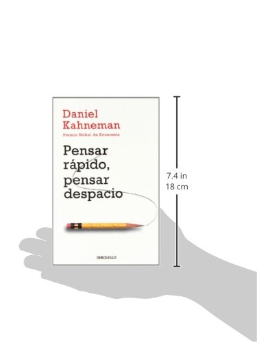 Pensar Rápido Pensar Despacio Thinking Fast And Slow Campañas Spanish Edition Kahneman Daniel 9788490322505 Books