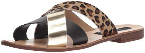 STEVEN by Steve Madden Women's SAINA Sandal, Leopard Multi, 10 M US