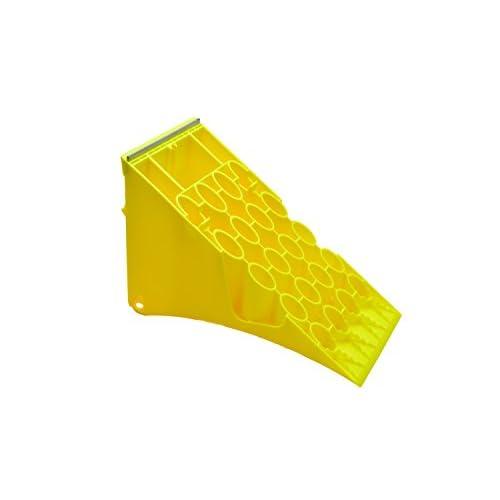 Roue plastique avec protection anti-g53 jaune galvanisé pour camions ou autobus