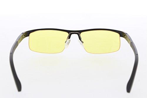 TNTi™ Billet Aluminum Frame eSport Pro Major League Gaming Glasses - Black Pearl by TNT interactive (Image #2)