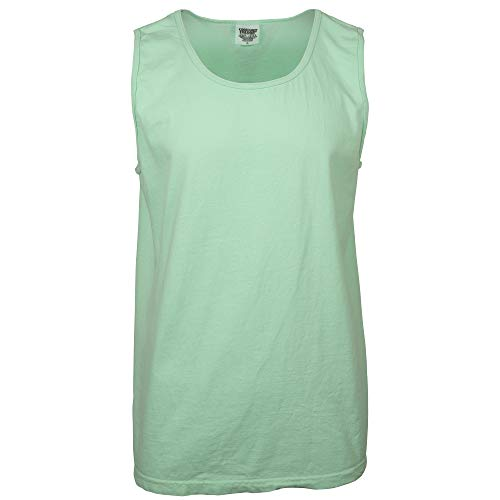 Comfort Colors Men's Adult Tank Top, Style 9360, Island Reef, Large
