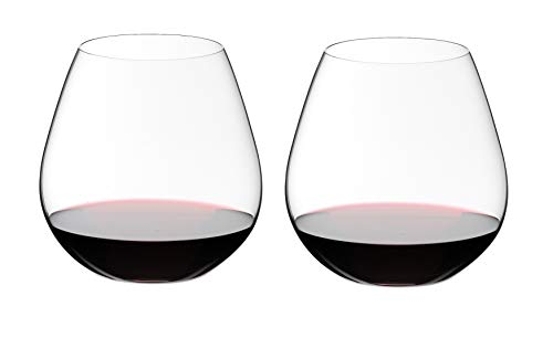 Riedel O Wine Tumbler Pinot Noir/Nebbiolo, Set of 2 (Pink Glasses Wine Riedel)