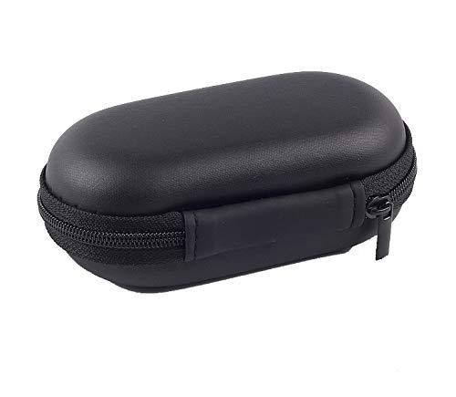 旅行用 ファスナー付き EVA Bluetooth ヘッドセット ヘッドホン イヤホン ドック 充電ケーブル オーガナイザー 電子機器アクセサリーケース 各種USB MP3ストレージバッグ ポーチ B07PQ9RHHB