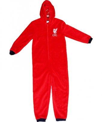 5aec494d329f Mens Liverpool FC Fleece Onesie Size Small  Amazon.co.uk  Clothing