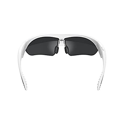 Yp-k2 Smart Sunglasses for Sports and Fitness Voice Control Dial Telephone Play Music(white)