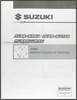 1999 Suzuki Vitara & Grand Vitara Wiring Diagram Original: Suzuki ...