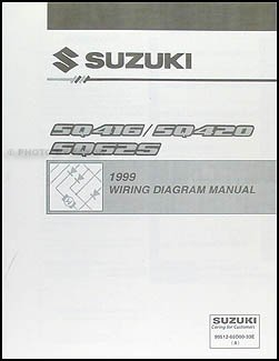 1999 suzuki vitara grand vitara wiring diagram original suzuki rh amazon com