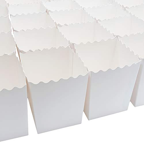 Set of 100 Popcorn Favor Boxes 16oz Party Supplies, Weddings, Showers