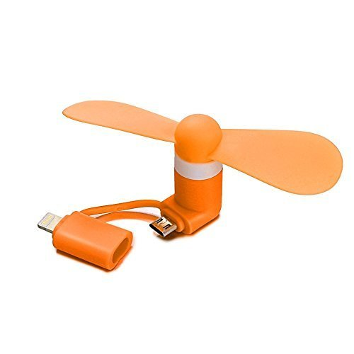 Portable Phone Cell Mini Fan Electric Cooler Cooling for iPhone/Android Phone