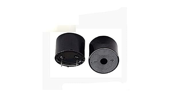 Yunneysiad Alarma de Humo, Alarma piezoeléctrica, Rugido, ksv 3-24V 12V 100db30 * 20mm: Amazon.es: Hogar
