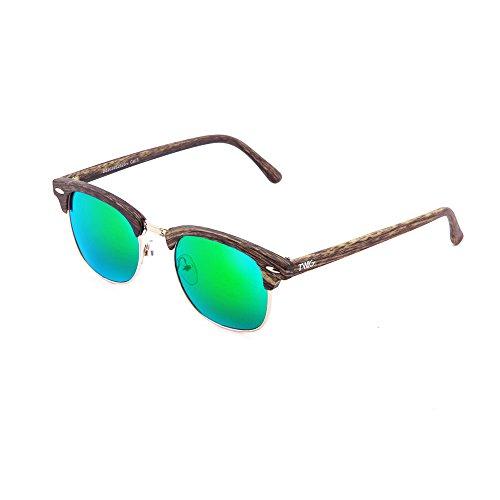 hombre DEGAS sol Verde mujer Oak estilo TWIG Gafas de madera xY4qA