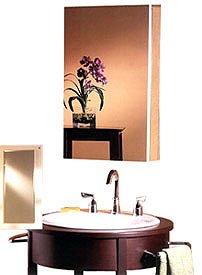 Broan Medicine Cabinets - Broan-NuTone 52WH344P Metro Classic 1/2-Inch Beveled Trim Medicine Cabinet, 34-Inch