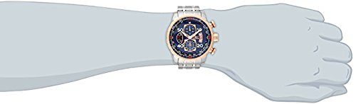 Invicta-Mens-17203-AVIATOR-Stainless-Steel-and-18k-Rose-Gold-Ion-Plated-Watch