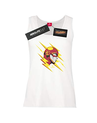 Camiseta Dc The Lightning Sin Flash Mujer Blanco Portrait Mangas Comics YpTgYrZ