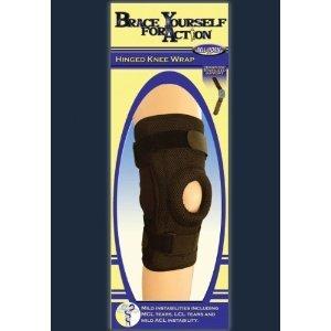 (Hinged Knee Wrap w/ Open Patella BYFA (2XL/3XL (20-24