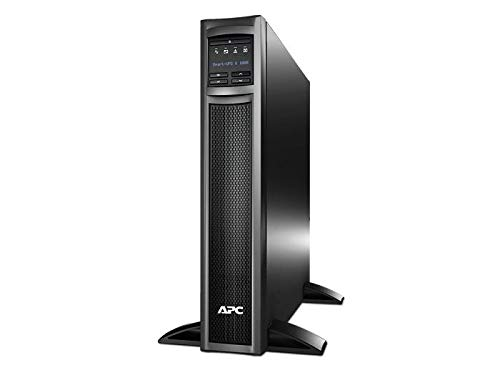 APC UPS, 1000VA Smart-UPS Sine Wave UPS Battery Backup with Extended Run Option, 2U Rack/Tower Convertible, Line-Interactive, 120V (SMX1000)