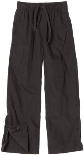 And Wes Willy Boys Pants (Wes and Willy Little Boys' Cotton Nylon Athletic Pant, Black, 5)