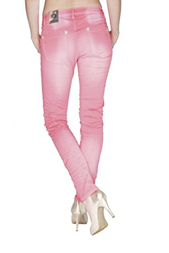 Blue Monkey Jeans - Vaqueros - skinny - Básico - para mujer Rosa