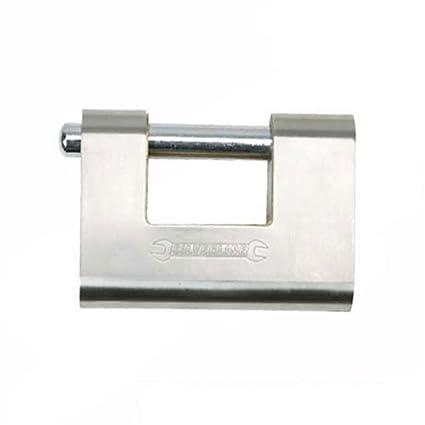 Silverline 380651 - Candado blindado (80 mm)