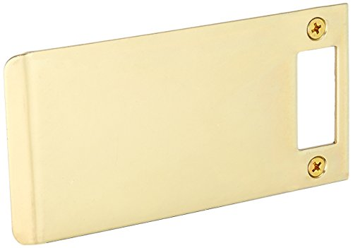 Don-Jo EL 205 13 Gauge Extended Lip Strike, Brass Plated, 5'' Width x 2-3/4'' Height (Pack of 10) by Don-Jo