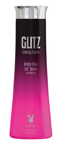 2011 PLAYBOY GLITZ Celebrity Sunless Golden Glow Self Tanner