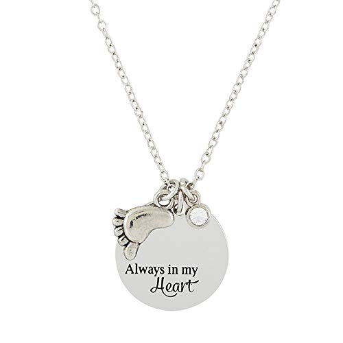 (Elysian Gift Shop Beautiful Mother and Child Necklace and Medal (1