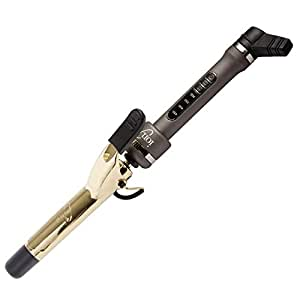Ion Golden Titanium Curling Iron 1 Inch