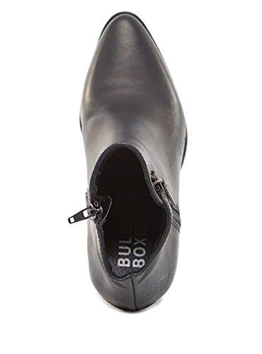BULLBOXER - Botas de Cuero para mujer negro